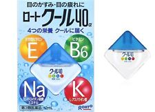 [NEW] Rohto Cool 40α Alpha Vitamin Eye Drops 12ml From Japan F/S Air mail