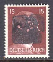 GERMANY 514 1944 SCHWÄRZUNGEN CHEMNITZ 16 C3 OVPT SIGNED OG NH U/M VF