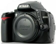 NikonD3000 10.2 Mp Digital Slr Camera - Black (Body Only) Great Condition