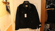 New With Tags Men's Navy Haggar Clothing Brighton Lined Coat Size XL