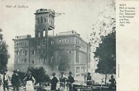 SAN FRANCISCO CA - Hall of Justice Destroyed by 1906 Earthquake and Fire - udb