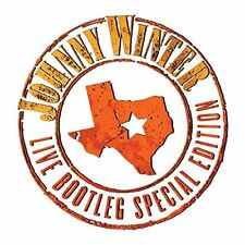 Johnny Winter - Live Bootleg Special Edition (2014)  180g White Vinyl LP  NEW