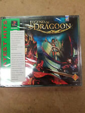 Ps1 - The Legend of Dragoon ~ Brand New Factory Sealed Game (Greatest Hits) ~