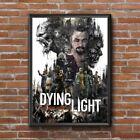 Dying Light Video Game, Dying Light Video Game Wall Decor Poster , no Framed