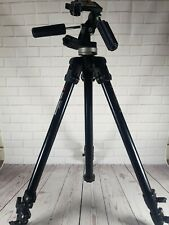 Manfrotto 144B Tripod with Manfrotto 141RC pan / tilt head.