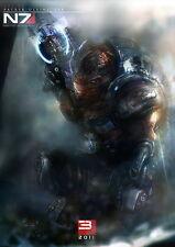 """31 Mass Effect 3 III Grunt Hot Game 14""""x20"""" Poster"""