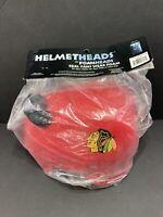 NHL Chicago Blackhawks Novelty Hockey Helmethead Foam Hat New