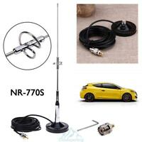 770S Antenne + Magnetfuß Halterung UHF-M Kabel +Stecker für Auto-Mobilfunk Radio