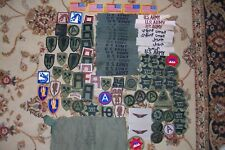 Large Lot of Vintage US Army Patches