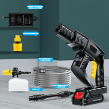 Cordless Pressure Washer Portable Power Cleaner 360 Psi 60a Battery Amp Charger