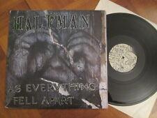 Half Man – As Everything Fell Apart - US Hardcore LP 1996
