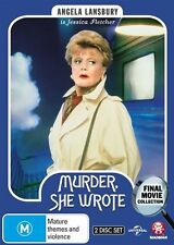 Murder, She Wrote: The Final Movies Collection NEW R4 DVD