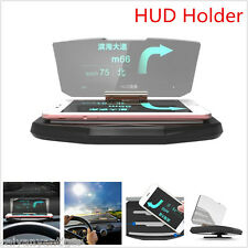 Universal Car GPS Navigation Holder HUD Head Up Display Braket For Smart Phone