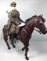 1/6 DRAGON GERMAN 8TH CAVALRY DIV EASTERN FRONT & HORSE MP-40 WW2 DID BBI 21