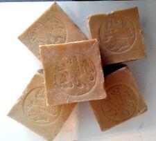 5 Stück original Alepposeife, Olivenöl/Lorbeer ca. 950 Gramm Natur, Seife.