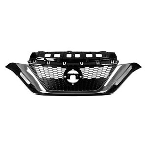 NI1200290 New Replacement Front Grille Fits 2017-2019 Nissan Versa Note