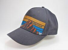 MARMOT Baseball Gray adjustable cap / hat - cotton blend Mountain Classic Design