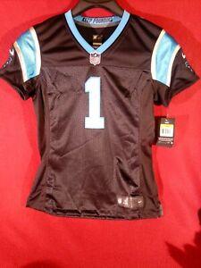 Women's Medium Med Nike On Field Carolina Panthers Cam Newton Jersey NEW W TAGS!