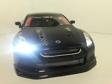 1/10 Scale NISSAN GT-R RTR Custom RC Drift Cars 4WD 2.4Ghz & Charger gloss black