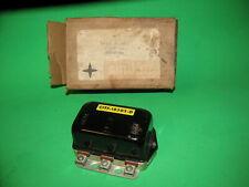 Vintage Ford Autolite Voltage Regulator 15V C1TF-10505-D 40-51 AMPS NEG GRD NOS