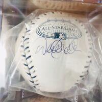 Derek Jeter Signed Autograph Baseball, Steiner COA, 2008 ASG