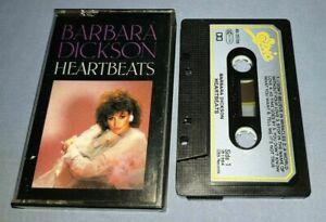 BARBARA DICKSON HEARTBEATS PAPER LABELS cassette tape album A1585
