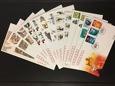 2001 Full Year PRC Stamps & S/S FDCs (70pcs) in Postal Fresh Condition