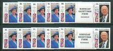 10 x Bahamas 1991 Geburtstag Elisabeth II **
