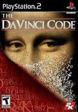 DA VINCI DAVINCI CODE CODICE PER PLAYSTATION 2 GAME PS 2 GIOCO USATO