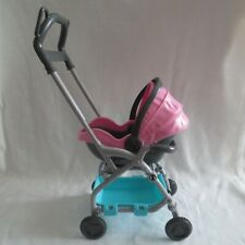 NEW Barbie Skipper Babysitter Doll Baby Carrier Car Seat Stroller Carriage