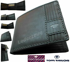 Tom Tailor Luca Small Wallet Geldbörse Portemonnaie Black schwarz