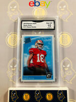 2018 Donruss Optic Donte Pettis #171 Rated Rookie - 10 GEM MINT GMA Graded Card