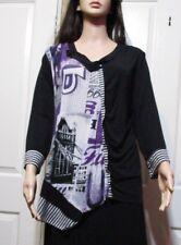 Ladies Lilia size XL long sleeved asymmetrical Top