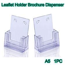 A5 Leaflet Holder Brochure Dispenser Flyer Menu Holders Display Stands UK