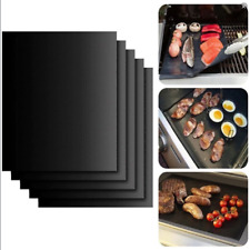 Meijuner 2pcs Non-stick BBQ Grill Mat Baking Mat Teflon Cooking Grilling Sheet