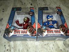 Marvel Avengers Civil War Captain America Ironman/CaptainAmerica Metals Die Cast