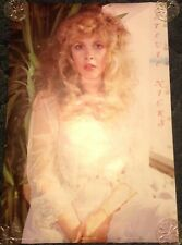 Stevie Nicks/Fleetwood Mac Sweet Vintage White Dress Poster From The 1980s/ Nice