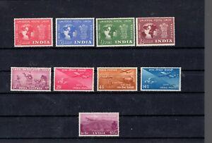 INDIA    BIRDS    1949       NICE  LOT          MNH     50