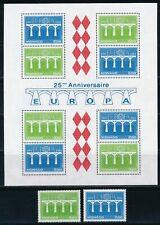 Europa CEPT - Monaco MNH Set Bridges (1984)