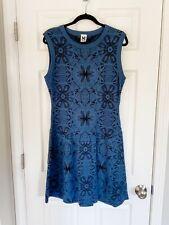 M Missoni Italy Blue Knit Dress - 48 / US 12