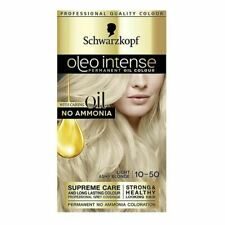 Schwarzkopf Oleo Intense Permanent Oil Hair Colour - Light Ashy Blonde 10-50