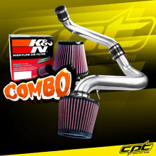 For 91-99 Saturn S-Series Mt 1.9L 4cyl Polish Cold Air Intake + K&N Air Filter (Fits: Saturn)