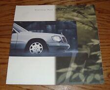 Original 1994 Mercedes-Benz E Class Deluxe Sales Brochure 94