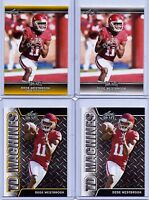 "DEDE WESTBROOK 2017 LEAF DRAFT GOLD ""4"" CARD ROOKIE LOT! SOONERS/JAGUARS!"