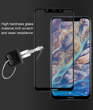IMAK 9H Pro+ Hard Full Coverage Tempered Glass Screen Protector For Nokia 8.1