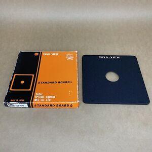 Toyo View Standard Board Lens Board W/ Original Box - LARGE FORMAT