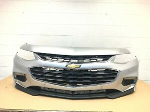 2016 2017 2018 chevy malibu front bumper with 4 sensors (switchblade silver) #15