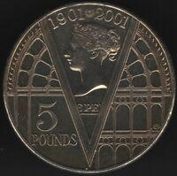 2001 Elizabeth II Five Pounds Coin | British Coins | Pennies2Pounds
