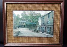 Vintage print Kevin Platt Clitheroe FREE UK P&P 22cm x 17cm