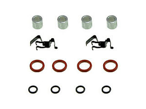 Fits GMC S15 1982-1990 Brake Bolt Kit; Disc Brake Hardware Kit Brakes Kits